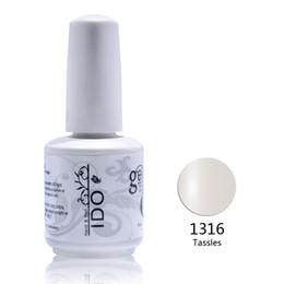 Wholesale Gel Nail Polish Ido - shades 24pcs Free shipping Uv Varnishes polish nail gel (22colors+1top+1base) IDO uv gel nail polish kit