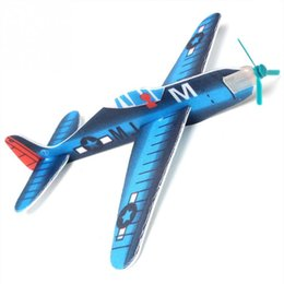 Wholesale toy metal bus - High Quality Flying Glider Planes Aeroplane Party Bag Fillers Childrens Kids Toys Game Prizes Gift 10 pcs