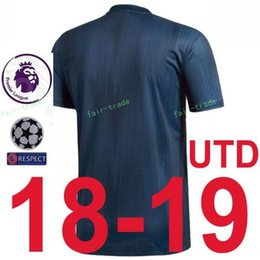 2018 2019 Premier League Man United Soccer Jersey Set 14 Jesse Lingard 10  Marcus Rashford Juan Mata Football Shirt Kits With Pant Manchester premier  league ... 09480903b