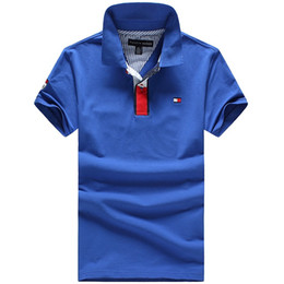 Wholesale United States Polo - 2018 Europe and the United States men's new brand summer Polo shirt # 164