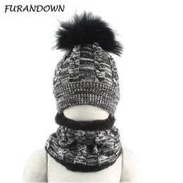 sciarpa anno vecchio Sconti 3-8 anni Unisex Winter Baby Hat Bambini Inverno Fleece Hat Sciarpa Neck Warmer Beanie con cappuccio sciarpa