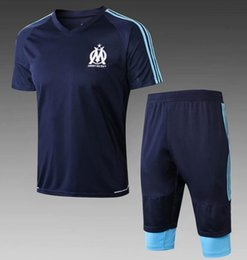 Wholesale men s express - Marseille Jersey 2018 2019 OM Marseilles training suit foot L. GUSTAVO THAUVIN 18 19 Marseille tracksuit Free express