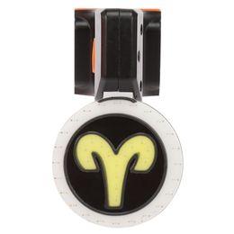 luci led incorporate Sconti Deemount USB ricaricabile LED bici posteriore luce di sicurezza bicicletta coda Lampada USB ricaricabile, 250 mAh batteria agli ioni di litio incorporata