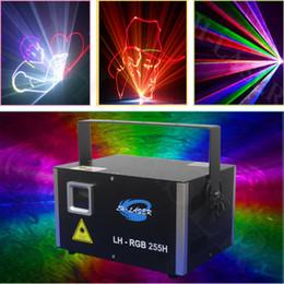 LH-RGB255H Mini lumière laser RVB à modulation analogique de 3,5 W avec carte SD et fonction sans fil avec scanner 30K ? partir de fabricateur
