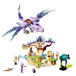 Wholesale princess building blocks - wholesale 30017 Friends Princess Series Elves serie The Aira & the Song of the Wind Dragon Building Blocks Bricks Toys Legoing 41193