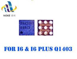 Carregador original do iphone 5s da maçã on-line-Full original novo Q1403 68815 Para iPhone 6 6G 6 mais 6 P carregador USB IC 5S Q4 chip de carregamento 9 pinos de alimentação IC