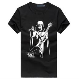 Wholesale Tee Shirt Heavy Metal - Man's Tee Heavy Metal Hip Hop Fashion T-shirt Younge Man Streetwear Summer New Short Sleeve Tee