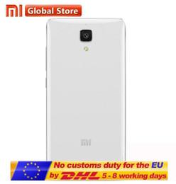 Wholesale Miui Rom - 100% New Original Xiaomi Mi4 4G FDD-LTE MIUI 6 Quad Core RAM 2GB ROM 16GB 5.0 inch 1920*1080 FHD 13.0MP VS lenovo k5 note lenovo k3 note