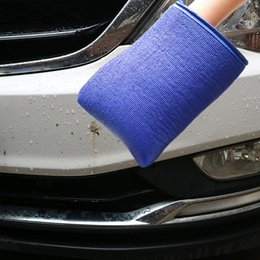Wholesale Bar Towels - Car Wash Magic Clay Bar Mitt Car Clay Cloth Auto Care Cleaning Towel Microfiber Sponge Pad Clay Cloth
