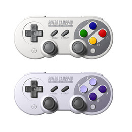 2019 pc joystick usb Joystick Sem Fio Clássico Bluetooth / USB-C 8Bitdo SF30 Pro / SN30 Pro / SNES30 Controlador Dual Pc para iOS Android Gamepad PC OTH844 desconto pc joystick usb