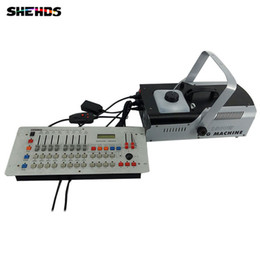Wholesale Smoke Machine Lights - 1500W Smoke Machine Stage fog machine for Remote and Wire Control and DMX512 Control Party DJ,Stage Lighting