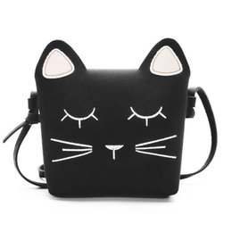AFBC Cute Cat Girls Purse handbag Children Kid Cross-body shoulder bag  Christmas Gift 16c526d671e58