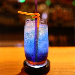 Wholesale Light For Drinking Bar - LED Colorful Cup Mat Color Changing Light Drink Bottle Coaster USB Rechargeable light For Home Wedding Party Bar Decor