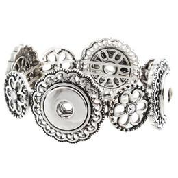 платиновые браслеты для мужчин Скидка Jayna Lee Hot Saler Snaps Buttons Pops Bracelet Jewelry Fit 18mm 20mm Ginger Snaps for women men gifts GJB7017