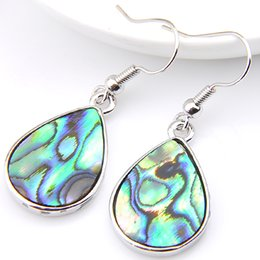 Wholesale Natural Shell Chandelier - 925 sterling silver luckyshine new arrive wholesale Natural Shell women fashion earring A050