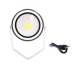Перезаряжаемый светодиодный квадрат онлайн-Портативный аварийный светодиодный солнечный фонарь 2 режима круговой / квадратный открытый кемпинг лампы водонепроницаемый USB аккумуляторная удобный свет лампы