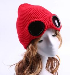 Wholesale Glass Dyes - 2018 New listing Autumn Europe Women Hat Wind resistance glasses Knitting Cap Outdoor Warm Hat 130