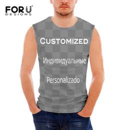 76bf4bdeed41c FORUDESIGNS Custom 3D Printed Summer Fitness Men Tank Tops Comfortable  Muscle Shirt Slim O-neck Sleeveless Shirt Male Funny Vest