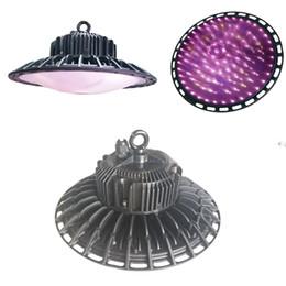 Crescer reflectores on-line-Luzes UV Refletor-Série UFO 100 W LED Crescer Espectro Completo Luz para Plantas de Interior Veg e Flor