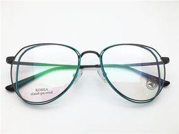 Special atttitude cool fashion desgin Korea hand painted top quality optical frame spectacle frame optical Clear prescription Lenses oculos