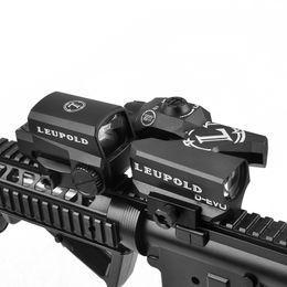 atrações combo Desconto LEUPOLD D-EVO Dual-Enhanced Vista Lupa Óptica Rifle Scope Reticle com LEUPOLD LCO Red Dot Sight Reflex Sight Rifle Vistas