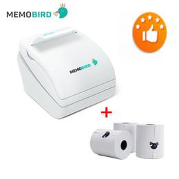 Wholesale Photo Parts - Wholesale-MEMOBIRD G1 New Printer Wifi Pocket Photo Barcode Printer Micro USB POS Interface send 3 parts paper free shipping