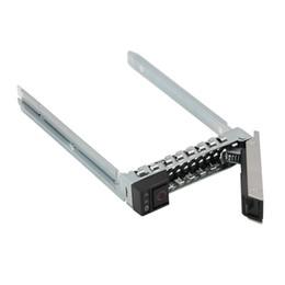 """2.5 """"DXD9H SSD SAS SATA Disco Rígido Caddie para 14 dell R440 R640 R740 R740xd R6415 R7415 Servidores PowerEdge Hot Swap Bracke de Fornecedores de caixa de plástico de disco rígido 3.5"""
