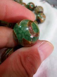 pedras de jade vermelhas soltas Desconto China Natural 20mm Tianzhu Jade Beads Frete Grátis C1