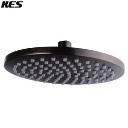 Wholesale Nickel Bronze - KES ALL METAL 8-Inch Shower Head Fixed Mount Rainfall Style Stainless Steel, Brushed Nickel Brushed Bronze Oil Rubbed Bronze