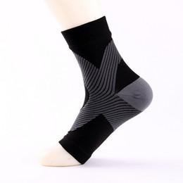 Wholesale Open Toe Socks Women - Compression Open Toe Socks Men Anti-Fatigue Plantar Fasciitis Heel Spurs Pain Sport Running Short Sock For Men Women