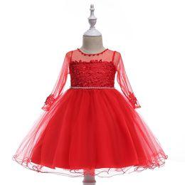 Nouvelle Arrivée Petite Princesse Fille De Fleur Robes Première Communion Robes Pour Filles Pageant Robes pour Filles 2018 Real Picture ? partir de fabricateur