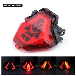 Wholesale Yamaha 25 - For YAMAHA YZF-R25 YZF-R3 MT-25 MT-03 MT25 MT03 Integrated LED Tail Light Turn signal Assembly Motorcycle Accessories