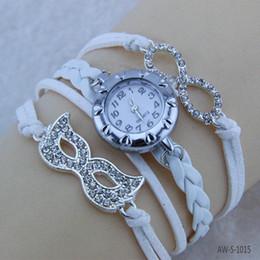 Кожаные ювелирные изделия женские Кос браслеты наручные часы маска для лица любовь браслет AW-S-1015 от
