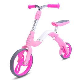 fahrradfarbe rosa Rabatt Nette Kinder Fahrrad AEST B02 Mini Kick Scooter Balance Bike für Kinder Alter 3 - 5 rosa Farbe