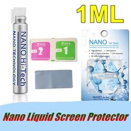 1ML Nano Protecteur d'écran Liquid Anti-Rayures Invisible Liquide 3D Pleine couche de protection en verre trempé pour Samsung S9 Note 8 iPhone X 8 ? partir de fabricateur