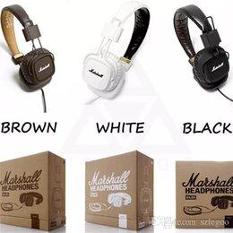 2019 auriculares profesionales de dj Auriculares principales vendedores calientes de Marshall Clone con el micrófono Auriculares profundos profundos bajos de DJ Auriculares HiFi Auriculares profesionales del monitor de DJ