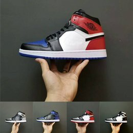 01714c4b075 Best Sale 1 High OG Game Royal Banned Shadow Bred Toe Basketball Shoes 1s  Men and Women Shattered Backboard Silver Medal Sports Sneakers best high  cut ...