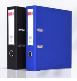 Wholesale Filing Plastic Box - Clip File A4 Folder Data Box Plastic Examination Paper Collect Folder Collection Custom