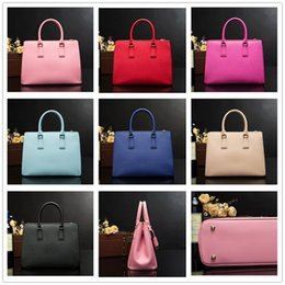 Wholesale Nylon Shoulder Shopping Bag - 2018Famous Designer woman Brand Bags Women Leather Handbags Genuine Leather Shopping Shoulder Crossbody Bags For Women Bolsas Feminina 2274