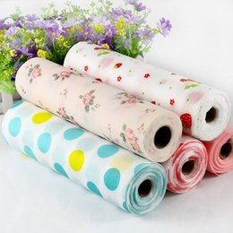 Wholesale cloth liners - Kitchen Drawer Liners No-adhesive Mat Lovely Dots Pattern Non-Adhesive Shelf Paper Drawer Liner Anti-Slip Mat for Table Cloth 30x300cm