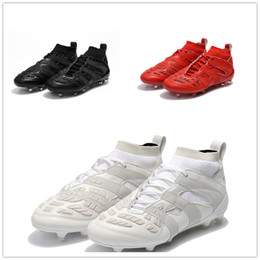 Wholesale Outdoor Spikes - With Box Wholesale Drop Shipping Predator Accelerator DB David Beckham Capsule FG Soccer Cleats Mens Soccer Shoes Football Boots