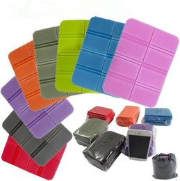 Wholesale parking pads - XPE Folding Pocket Seat Cushion Park Portable Small Cushion Moisture-proof Waterproof Anti-dirty Anti-cold Outdoor Pads CCA9853 50pcs