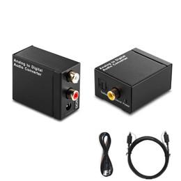 EDD optique coaxial Toslink SPDIF coaxial à l'adaptateur de convertisseur audio analogique L / R RCA HMP_40M ? partir de fabricateur