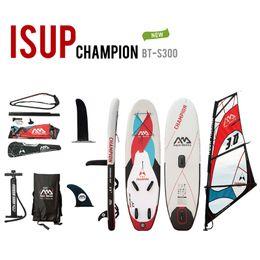 Soportar inflable online-Aqua marina hinchable SUP Windsurf SUP WindSUP tabla de surf hinchable Stand up paddle board surf