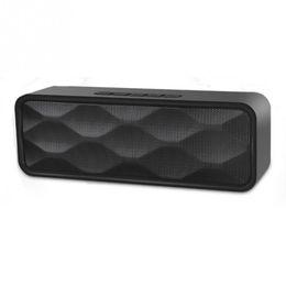Wholesale Usb Speaker Dock - Bluetooth Speaker Wireless Mini Portable Handsfree USB TF Card FM Radio Stereo Sound Double Speaker Subwoofer Player