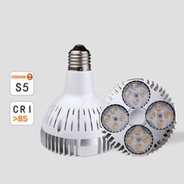Галогеновое освещение онлайн-10 шт./лот LED par30 свет 35 Вт E26 E27 par30 прожектор заменить 75 Вт металла галоидом AC85-265V 3 года гарантии
