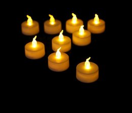 Fabbrica di candele online-Environmental protection CR 2032 tea candle Sorgente luminosa colorata a LED per candele elettroniche