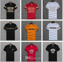 Wholesale Gym T Shirts For Men - New T-shirt Fashion Women And Men's Clothing Casual Summer Brand Students Short Sleeve Tops Boys And Girls Shirt Tshirts T For Men Gym