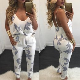 f615fbe7b98 2018 Sexy Halter 2 Piece Set Women Tracksuit Floral Print Two Piece Set  Summer Women Outfit Top and Pant Pink White