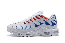 Чемпион мира по футболу Франция плюс TN спортивная обувь кроссовки airss подушка Tns Мужчины Женщины дышащий кроссовки EUR 36-46 от Поставщики белая симуляторная обувь